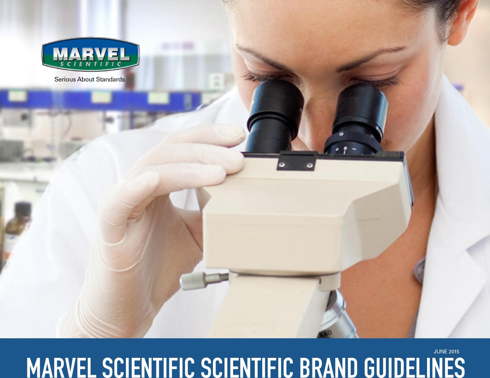Marvel Scientific Brand Template