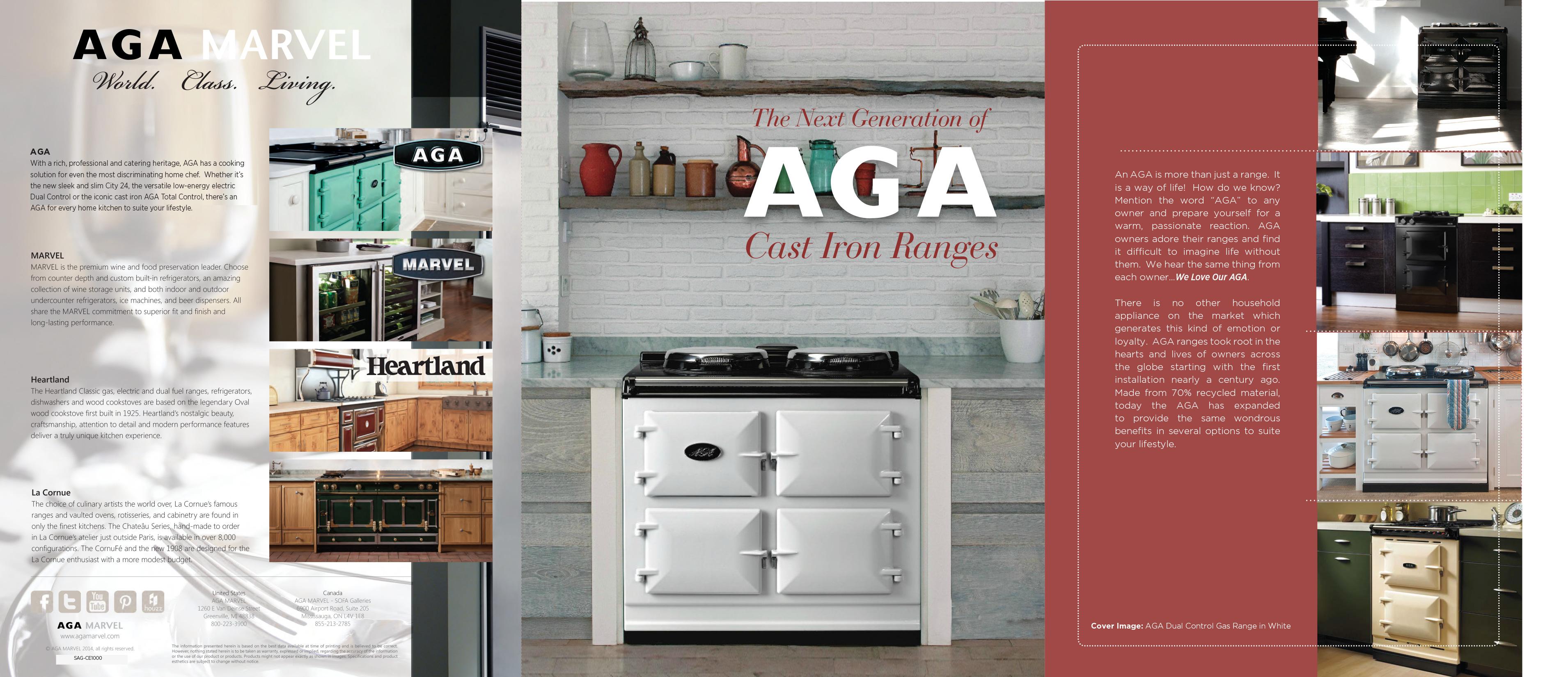 AGA Cast Iron Brochure