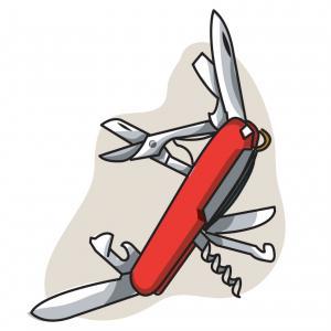 Jackknife Color Outline