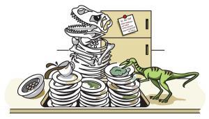 T-Rex-Skeleton