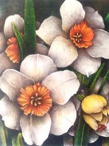 White Yellow-Flowers